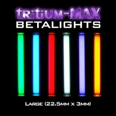 Tritium-MAX Large Betalight,  Isotope (22.5mm x 3mm)