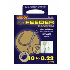 Middy Pellet Feeder Band Em Short Hook Lengths