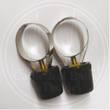 2 Reel Seat Coaster Clips Large (33mm)