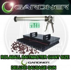 Gardner Rolaball Boilie Baitmaker Giant + Deluxe Sausage Gun Xt Offer